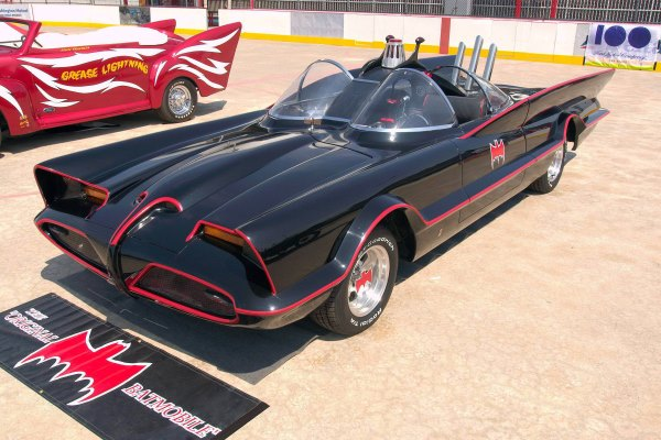 Batmobile from 1960s TV