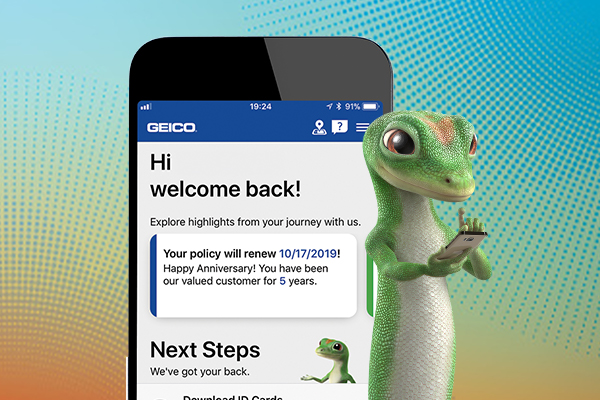 Geico Roadside Assistance Phone >> Geico S Award Winning Mobile App Puts Help At Your