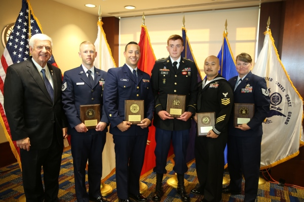2017 GEICO Military Service Award Winners