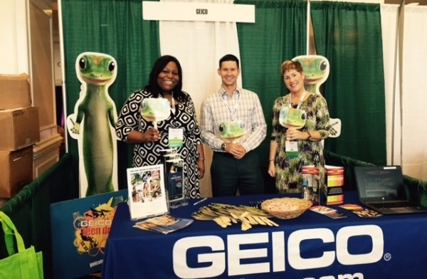 GEICO Drive Smart VA Booth