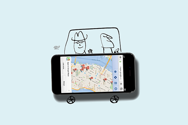 ridesharing illustration