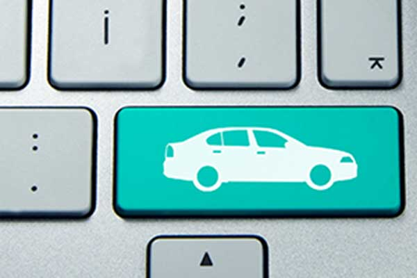 car keyboard icon