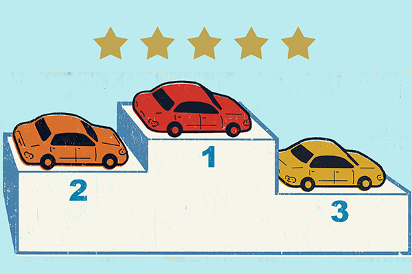 car awards five stars