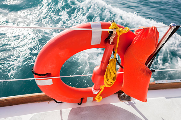 boat lifesaving equipment