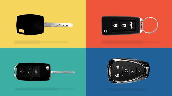 types of car keys