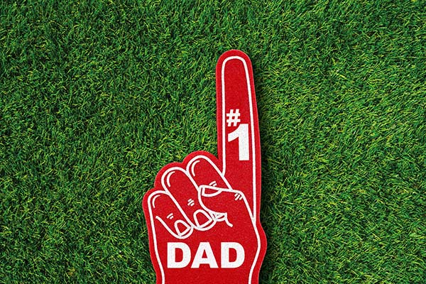 foam finger #1 dad