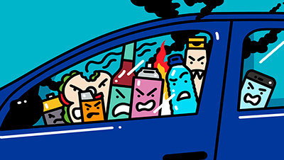 7 Items You Shouldn't Leave In Your Car