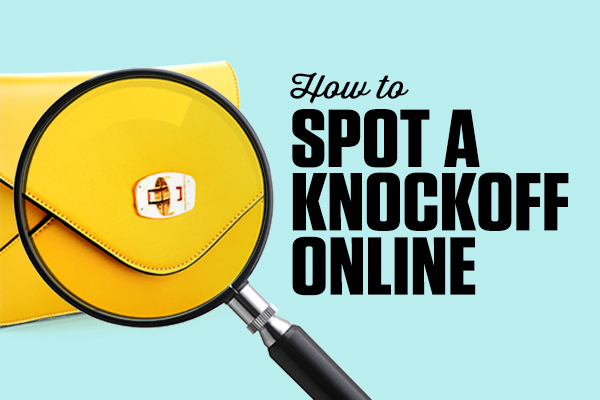 How to spot a knockoff online