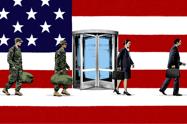 veterans revolving door
