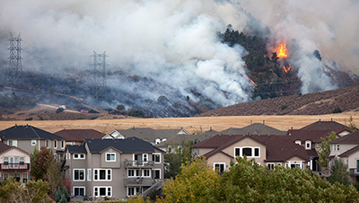 How To Help Protect Your Home From Wildfires