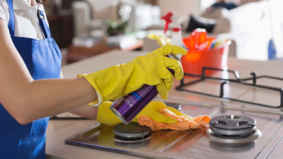Using car wax on stovetop