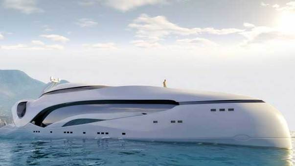 Oculus Yacht Concept Boat