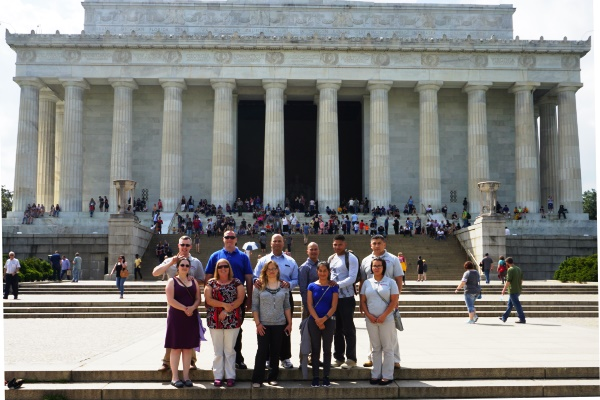 2016 GEICO Military Service Award Winners Tour the National Mall