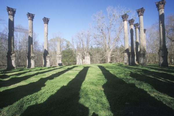 Windsor Ruins are the ruins of the largest antebellum Greek Revival mansion