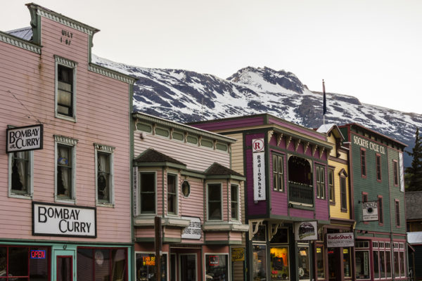 Klondike Gold Rush National Historical Park (Skagway Historic District), Skagway, Inside Passage, southeast Alaska USA.