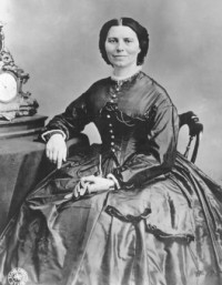 Portrait of Clara Barton