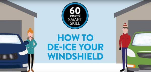How to De-Ice Your Windshield