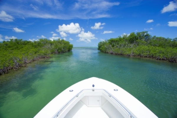 boating in Florida Keys