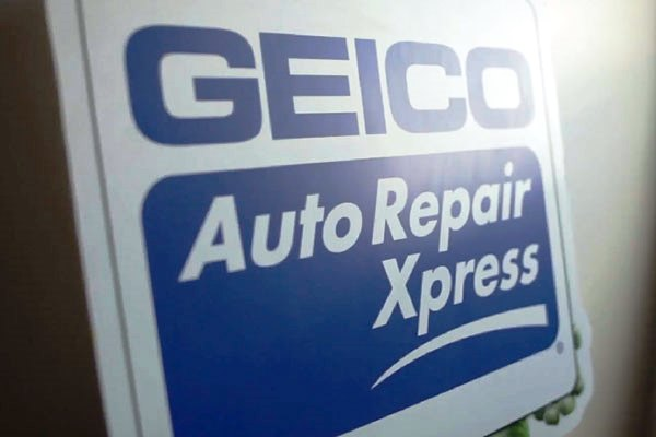 GEICO Auto Repair Xpress sign