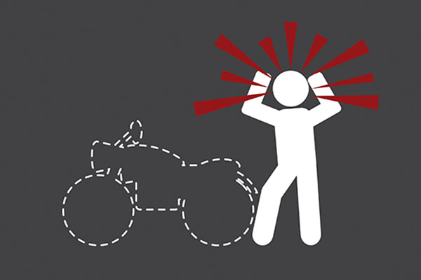 motorcycle theft illustrated