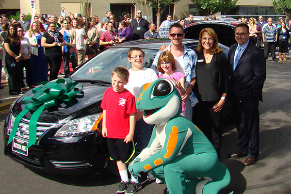 Recycled Rides GEICO car donation