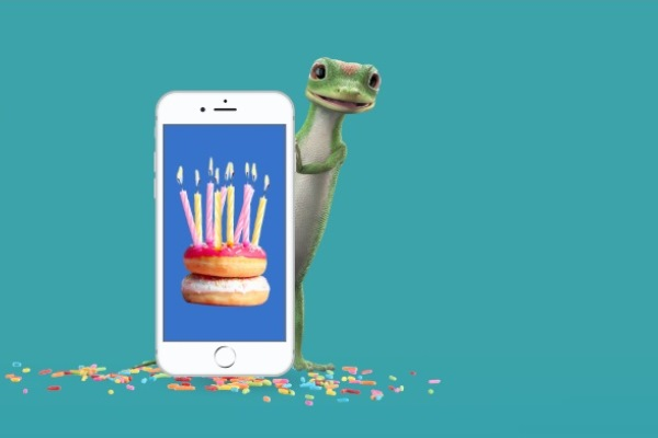 App Y Birthday To GEICO Mobile