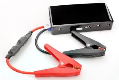 portable batter charger with jumper cables