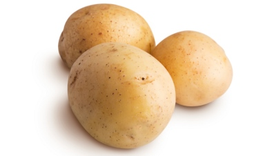 Group of potatoes