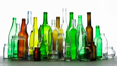 Collection of bottles of various colors