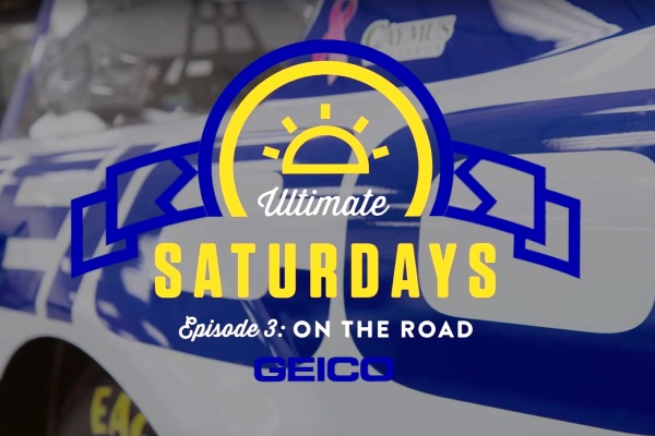 Ultimate Saturdays: On the Road title card