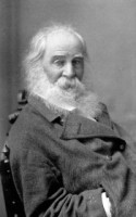 Antique Photograph Portrait of American Poet Walt Whitman