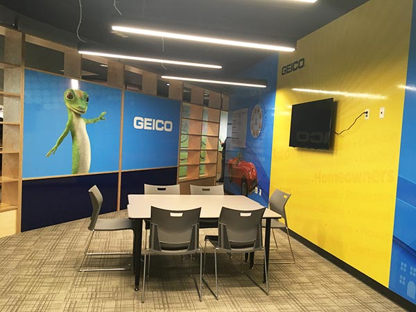 GEICO's Junior Achievement Storefront