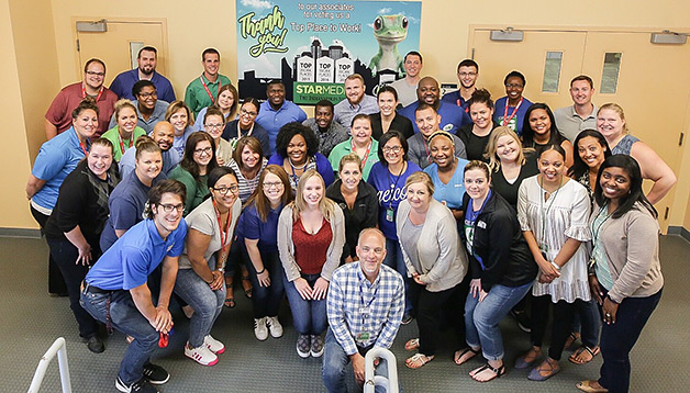 GEICO associates celebrate the Top Workplaces honor