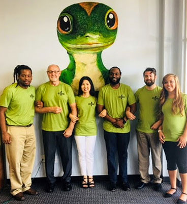 Photo of GEICO's Jacksonville's local staff
