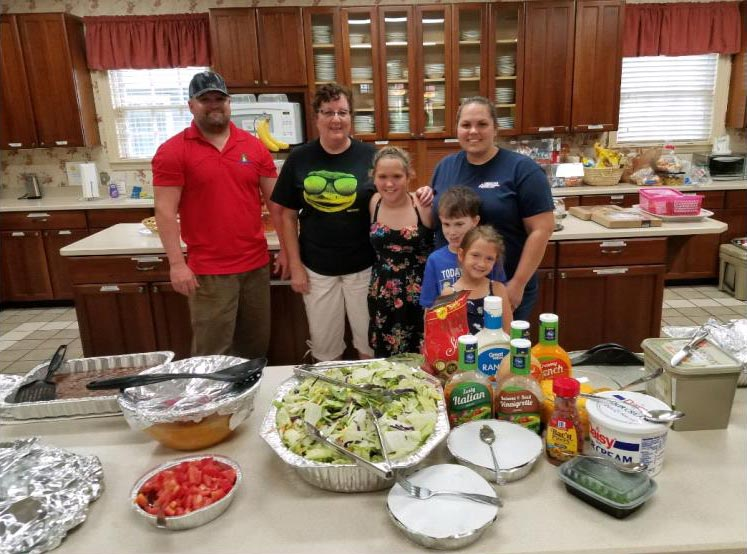 GEICO associates volunteer at Ronald McDonald House