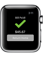 Image of GEICO App on Apple Watch