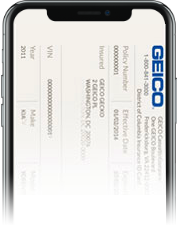 GEICO Digital ID Card
