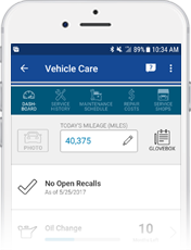 Image of GEICO Vehicle Care on GEICO Mobile app