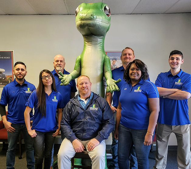 GEICO's south Oklahoma City local office staff