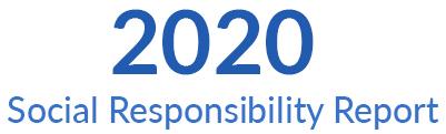 Banner de informe de responsabilidad social 2019