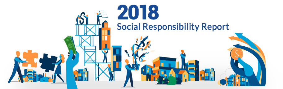 2018 social responsibility report banner