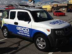 GEICO vehicle