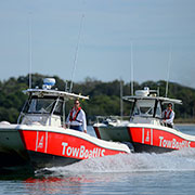 large towing boat