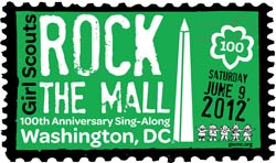 Girl Scouts Rock the Mall 100th Anniversary