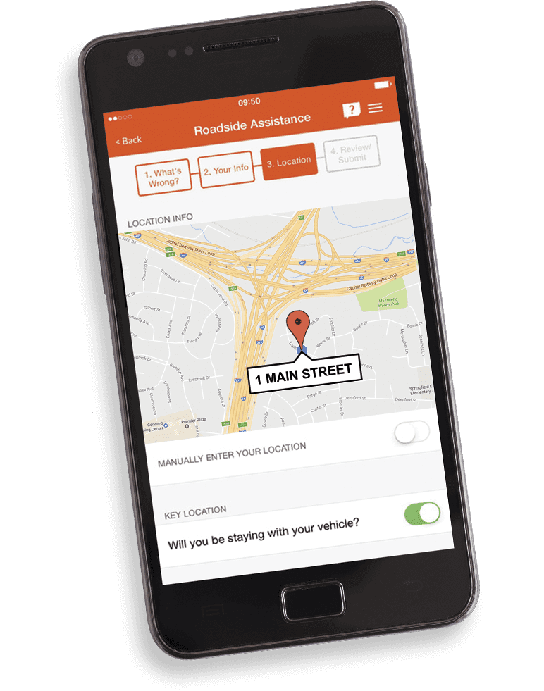 Aplicación GEICO mobile | Kit de motocicleta GEICO