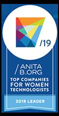 Cinta líder 2019 de AnitaB.org