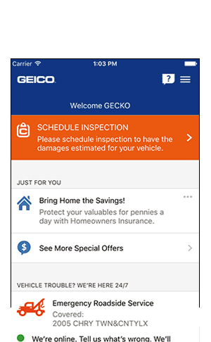 GEICO's Mobile App Awesome Geico Auto Quote