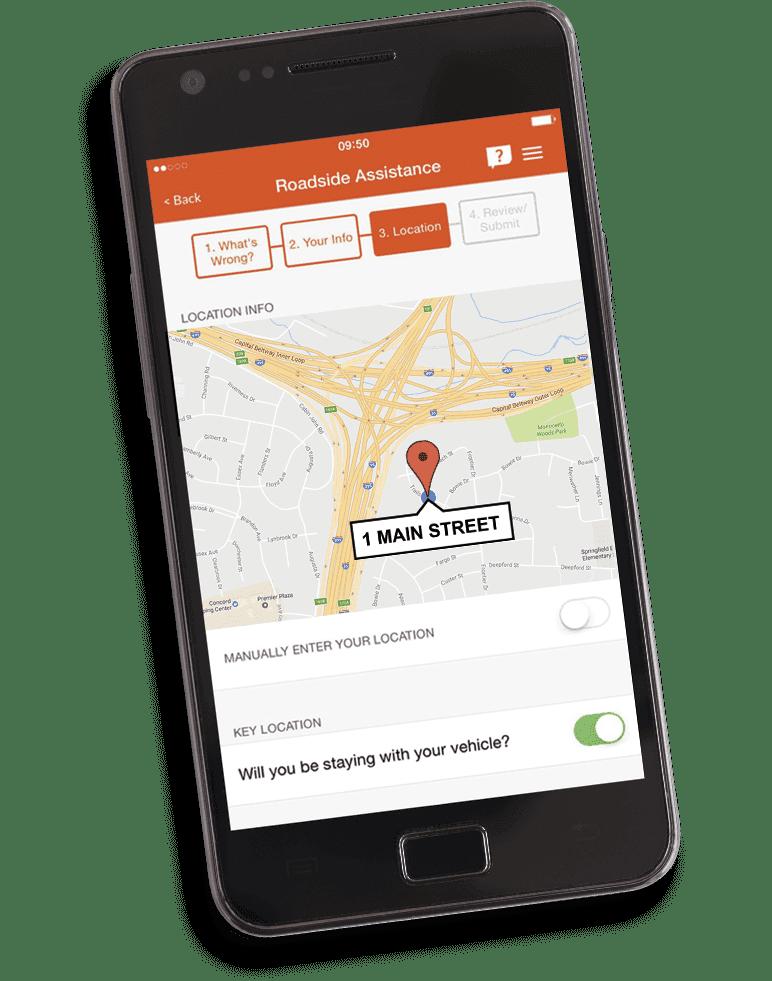 Aplicación móvil de GEICO | Kit de casa rodante de GEICO